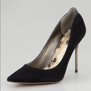 Sam Edelman Black Danielle Pumps Stiletto Heels